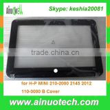 brand new B cover laptop lcd bezel for hp MINI 210-2000 2145 2012 110-3000 laptop B shell hinge plam rest bottom case