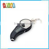 Multi-function Mini Tire Pressure Gauge Screwdriver Keychain