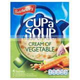 Batchelors Cup A Soup Granules Cream Of Vegetable (4 Servings per box)