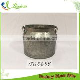 cheap wholesale antique ornamental home decorative iron fat direct manufacturer metal flower pot urns