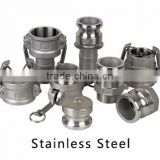 Factory price type A, B, C, D, E, F, DC, DP pipe fittings Stainless Steel quick female camlock coupling