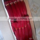 horse tail hair,dyed colour
