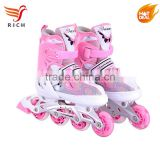 quad rollable lighting up inline roller skating shoes adults