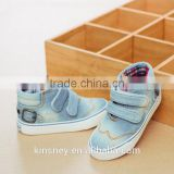 KS50110X Denim Fabric Casual High Neck Sneaker Canvas Shoes Kids