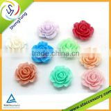 high quality resin flower cabochons,resin flower beads,resin flower pot