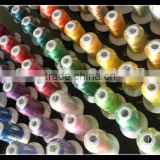 New Large Spools 100% Polyester Machine Embroidery Thread for Brother janome 1000m * 112 ,Free Shipping
