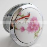 Ceramic Cosmetic Mirror/Porcelain Pocket Mirror/Chinese National Style Chinaware Make Up Mirror,Promotion Dress up Mirror