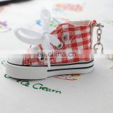 Newest design cheap price china factory direct sale eva shoe keychain