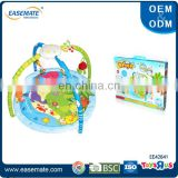 Electric baby play mats carpet with light and music