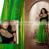 New Bollywood Indian Party Wear Anarkali Long Pakistani Salwar Kameez Fancy Salwar Kameez Heavy Bridal Suit