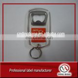 Professional OEM Factory Custom Made High Definition Logo Promotion Souvenir Hard Acrylic Bottle Opener Keychain