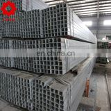 q195 mild tube schedule 40 galvanzied steel square pre galvanized pipe