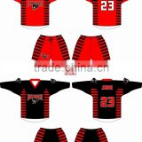 Sublimated box lacrosse jerseys shorts hoodies and socks