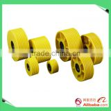 cast iron elevator pulley, elevator parts pulley