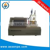 High precision karl fischer titrated instrument,oil water detecting equipment
