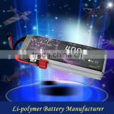 Universal high rate lithium polymer battery 4000mAh 11.1V 35C rc car bettery pack rechargeable battery