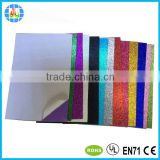 2mm self adhesive glitter paper for art craft project