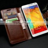 Chinese decorate cell phone custom case hard cover with magnetic bumper and card slots for samsung galaxy note 3