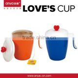 D490love's cup i love you disposable coffee cup gift for married couple promotional gift
