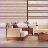 Wholesale Roller type and 100% Polyester Material American Style Stripe Zebra Blinds Fabric