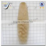 Wholesale Top Quality Natural Straight Long Blonde Human Hair European Virgin Human Hair Wig