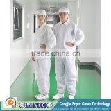 High quality Anti-static ESD Clean room suit ESD antistatic cleanroom cloth ESD Cleanroom suit