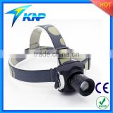 Zoomable Polymer Lithium Rechargeable CREE XML T6 Led Headlamp