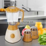 Best selling Plastic Automatic Electric 3 in 1 Blender Grinder and Mixer                                                                         Quality Choice
