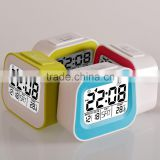 Retro TV shaped kids digital alarm clock, Calendar clock, fashion alarm clock