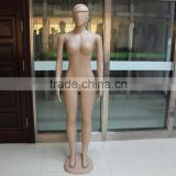New Design Fashion Full Body Big Size Standing Skin Color Model Female Mannequin With Plastic Base