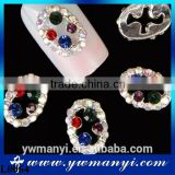 Colorful rhinestone nail art jewelry beauty gifts for women L0064