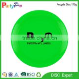 Canada market new 2015 BSCI China Manufacturer advantisement super deal 175g PE wholesale frisbee flying disc golf