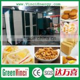 Greenvinci Biomass Hot Air Furnace connect with dryer widely used for food drying and fruit dehydration