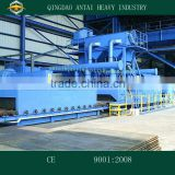 QH6920 H Beam Shot Blasting Machine / Roller Conveyor Type Shot Blasting Machine / Pass Through Type Shot Blasting Machine