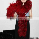 Full Fluffy coque feather Boa LZBYK37