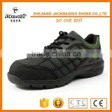 Dual PU color outsole Europe high quality security work factory safety shoes for man and labor