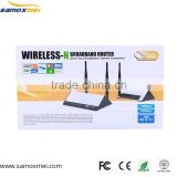 150Mbps High speed 2km wireless range 802.11n/b/g adsl modem wifi router 4 Ethernet LAN ports