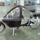 electric cargo bike two wheel electric cargo bicycle powerful electric cargo bike wholesale