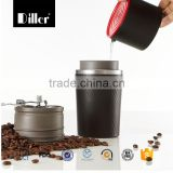 Promotional gift Portable all in one coffee maker vacuum flask coffee mill                                                                         Quality Choice