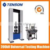 200KN Floor Type Electronic Universal Tensile Testing Machine Universal Testing Machine Price Compression Tension Tester