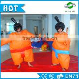 2015 Top sport games sumo wrestling suits, inflatable sumo suits, custom sumo suits for sale