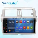 Low cost Android Quad core car stereo for Toyota Prado cars with GPS mirror link FM AM functions