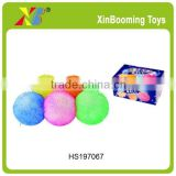 10'' 6pcs Flash Puffer Ball, bounce ball with light