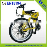 "2015 factory new 26"" 36V folding mountain electric bike engine"