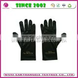 custom logo printed microfiber jewelry cleaning gloves
