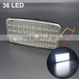 Universal 4X9 LED DC12V Car Indoor Reading Lamp Roof Ceiling Light Interior Decorative Light