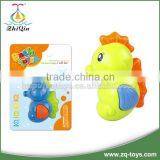 Lovely squirt <b>bath</b> toy <b>plastic</b> sea horse <b>baby</b> <b>bath</b> toy