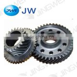 Cylindrical helical gears transmission auto parts high precision large metal gear sewing machine gears