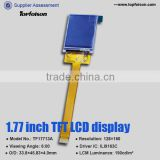 Factory Sale 1.77 inch tft lcd display panel 128*160 resolution with resistive touch panel for electronic device-TF17713A