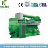 500Kw Chinese coal gas Generator Set Gas Generator with Anthracite, bituminous coal, coke